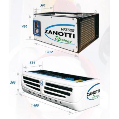 Рефрижераторная установка Zanotti NFZ эвтектическая установка. Калуга.