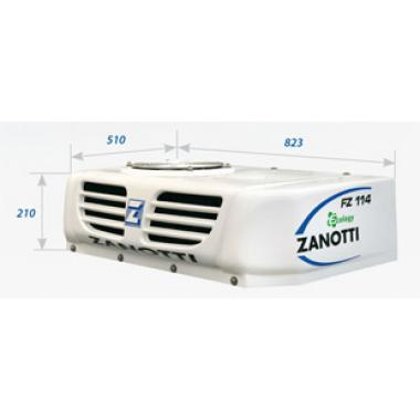 Рефрижераторная установка Zanotti SFZ 114 с приводом от генератора автомобиля