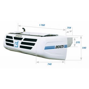 Рефрижераторная установка Zanotti DFZ 425 с приводом от авт. диз. дв